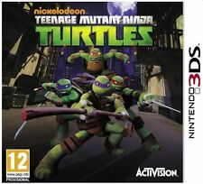 Nintendo 3DS Jeu Teenage Mutant Ninja Turtles 2013 3D NEUF