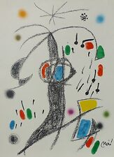 Joan Miro Maravillas acrosticas 19 signed limited to 1500 LITHOGRAPH 1975
