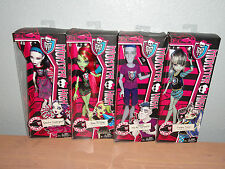 MONSTER HIGH GHOUL SPIRIT COMPLETE SET OF 4 FRANKIE/SPECTRA/VENUS/SLO MO