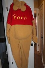 The Disney Store Adult XL Talking Winnie The Pooh plush deluxe retired costume