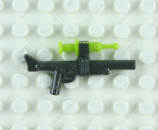 LEGO TRANQUILIZER GUN WITH LIME SYRINGE DART minifig Dino hunter weapon new