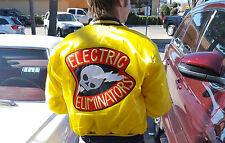 FANCY DRESS HALLOWEEN PARTY MOVIE WARRIORS PROP GANG PATCH: Electric Eliminator