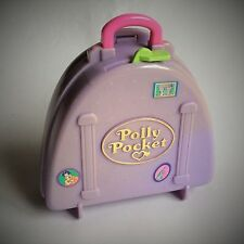 POLLY POCKET – COMPACT SUIT CASE – SNOW MOUNTAIN/ SKI HOLIDAY