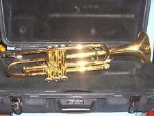 #505 - Great Bach / Selmer TR300 Student Trumpet in Hard Case - Smooth Valves