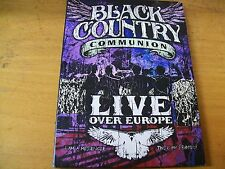 BLACK COUNTRY COMMUNION LIVE OVER EUROPE  2  DVD