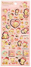 Sanx San-x Royal Strawberry Rilakkuma Sticker Sheet stickers kawaii Japan Bear