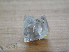 Herkimer Diamond Crystal Mini Cluster w/ Black Seed Inclusions, Authentic NY Gem