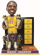 Magic Johnson Los Angeles Lakers 5x NBA Champion, 3x MVP Bobble Head Doll #/144