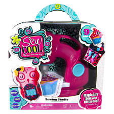 Sew Cool Sewing Studio Kit Age 6 Design Stitch Decorate 10 No Thread Projects