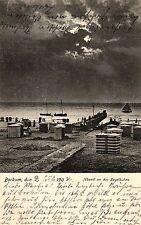 Borkum, Abend an der Segelbuhne, 1904