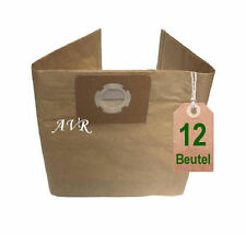 12 x Staubsaugerbeutel Filtertüten geeignet für Kärcher WD5.400 WD 5400 Beutel