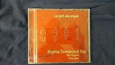 SOPHIA DOMANCICH TRIO (PAUL ROGERS TONY LEVIN) - LA PART DES ANGES. CD