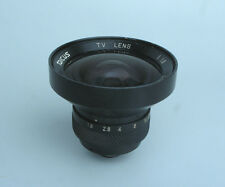 Tarcus 4.8mm f1.8 Cine C Mount TV Lens - Super Wide