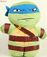 "TMNT Ninja Turtle  - Leonardo 14"" Plush Backpack  For Kids Boys Kids -Brand New"