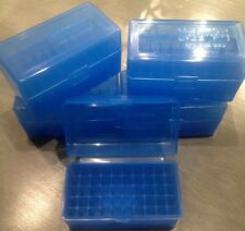 Berrys Plastic Ammo Rifle Box 17 Rem .223 222 5.56 ( 1 ) BLUE 223 .222 AR 15 405
