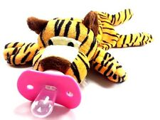 BABY PACIFIER TIGER STRIPE/OPEN ALONG SUCKLING BABY DOLL FOR HUG AGE3-6MONTH UP