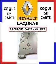 COQUE CARTE 3 boutons modèle MAIN LIBRE, RENAULT LAGUNA 2, livré sous 48H!!