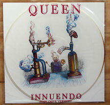 "EXCELLENT! QUEEN INNUENDO 12"" VINYL PICTURE PIC DISC"