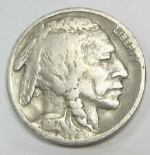 1917-D Buffalo Nickel - Indian Head Higher Grade Coin! *Old US 5 Cents