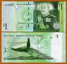 Tonga - 1 Paanga - 2009 issue - UNC currency note