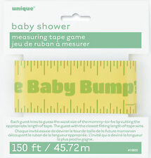 BABY SHOWER UNIQUE MEASURING TAPE GAME