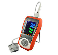 Adult+Infant+Neonate 3 probes, SPO2+PR+TEMP, handheld pulse oximeter, CE,softtip