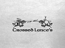 CLH05 - CROSSED LANCES -  SQUIRE JUG & GOBLET - CURTEYS MINIATURES 28mm MEDIEVAL
