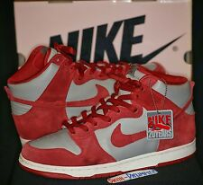 NIKE SB UNLV DUNK HIGH Pro BTTYS Medium Cool Grey Varsity Red 2005 jordan 11 12