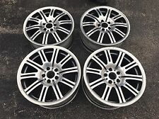 "19"" OEM 19's BMW Polished BMW E46 M3 E90 E92 wheels rims 5X120"