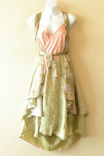 "M599 Reversible Vintage Silk Magic 30"" Length Wrap Skirt Halter Tube Dress + DVD"