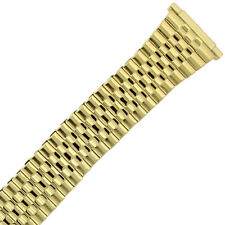 16mm-20mmWatch Band Expansion Metal Stretch Gold Plated fits Mens