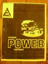 Allis Chalmers service bulletins for Kohler engines as used in their garden line