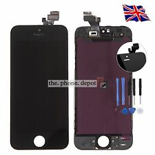 For Black iPhone 5 LCD Touch Screen Digitizer Display Lens Assembly Replacement