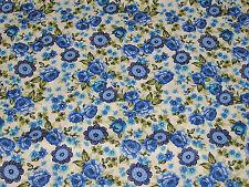 Shabby Tissu large 115 cm au mètre floral 100% coton style liberty 130g