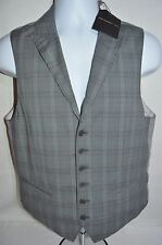 JOHN VARVATOS Star USA Man's Geometric Print Vest NEW Size 38  Small Retail $198