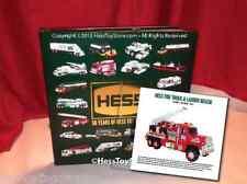 NEW 2014 Hess Truck 50th Anniversary Book  PLUS 2015 Insert