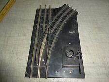 LIONEL POSTWAR # 1022 SWITCH TRACK, MANUAL RIGHT, PARTS, PLEASE EXAMINE