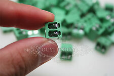 20PCS 2-Pin 5.08MM Pitch Panel PC Mount Plug-in Terminal Screw Block Connector