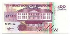 Suriname  100 gulden  1998   FDS  UNC  pick 139 b   lotto 3224