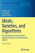 Ideals, Varieties, and Algorithms: An Introduction to Computational Algebraic...
