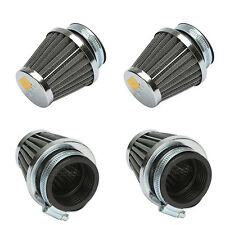 4x 52mm Air Filter Cleaner Pod Fit Yamaha XJ 600 Suzuki GSXR 750 1100 GSX600F