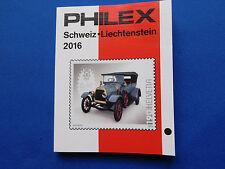 Briefmarken-Katalog  Philex für  Schweiz- Liechtenstein  Marken 2016   8,50 Euro