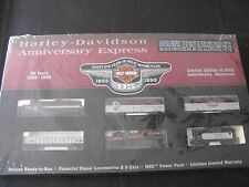 Harley-Davidson HD 95th Anniversary Express 1998 Edition HO Scale Electric Train