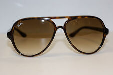 RAYBAN  SUNGLASSES CATS  5000  4125  TORTOISE  710/51   ANTI GLARE  AVIATOR NEW