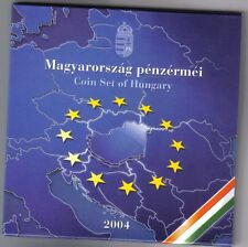 ungheria hungary coin set 2004