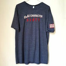 Great Divide Brewing T-Shirt Size XL Bold Character Charcoal Gray Craft Beer New