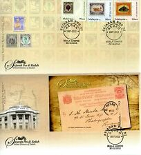 Malaysia First Day Cover Postal History of Kedah 2012 2pcs