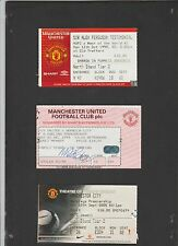 Match ticket for MANCHESTER UNITED vs  MANCHESTER CITY