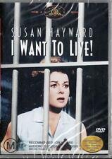 I WANT TO LIVE! - SUSAN HAYWARD  -  NEW & SEALED REGION 4 DVD