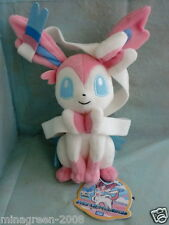 JAPAN TAKARA TOMY Pokemon BW Series 2013 Plush Plushie SYLVEON NYMPHIA AUTHENTIC